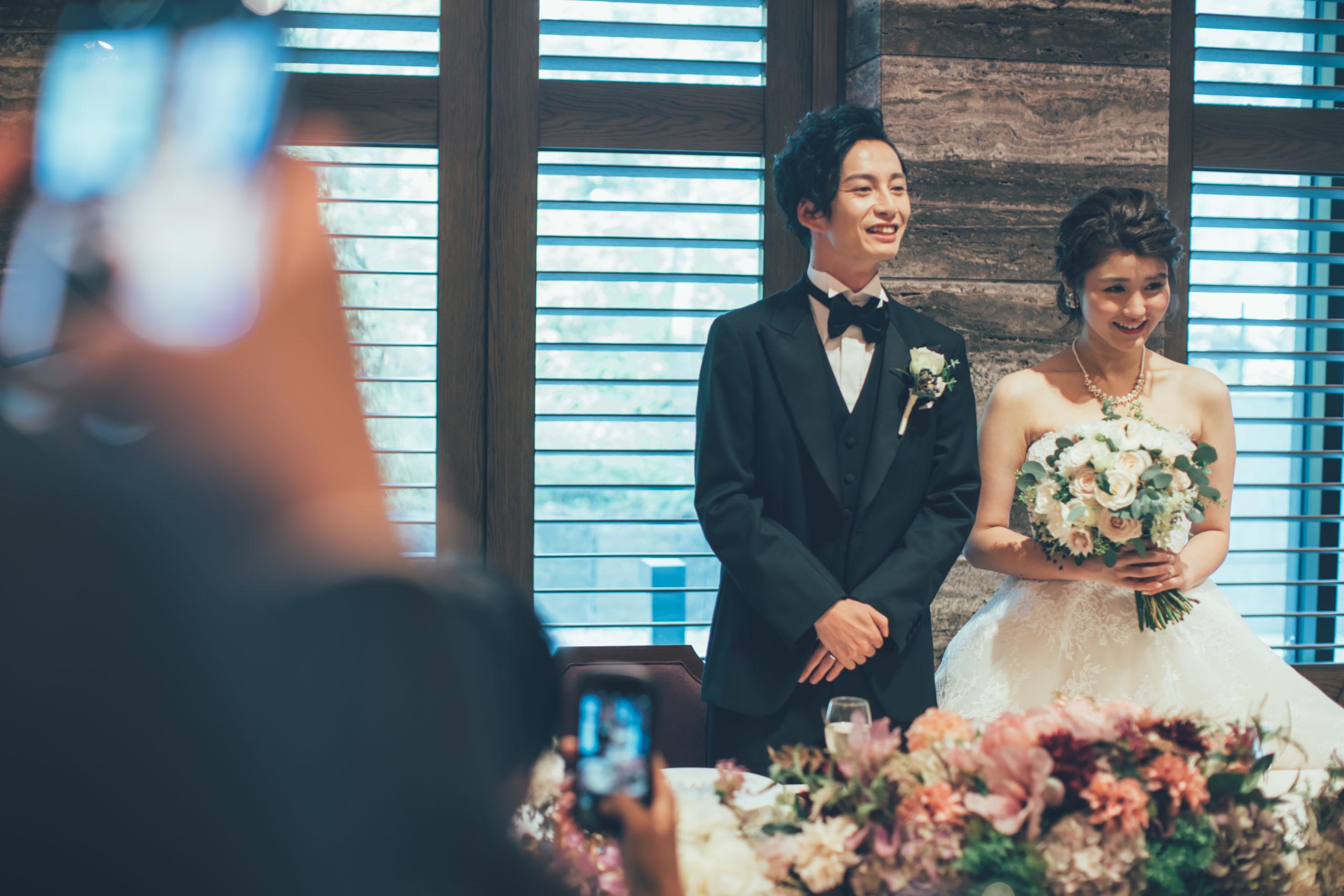 結婚式 お礼挨拶 冒頭   結婚式ブログ